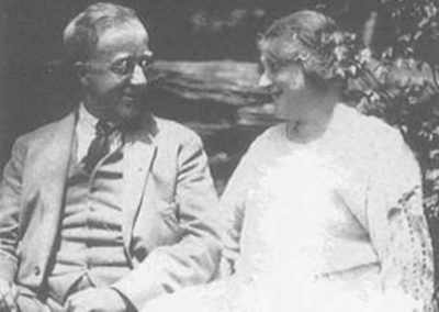 Gustav and Isobel Holst, reproduced with permisssion from The Holst Trust, The Cheltenham Trust and Cheltenham Borough Council