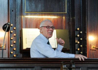 John Wellingham, Organist