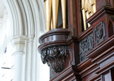 Thaxted Lincoln Organ restored