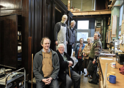 Thaxted Lincoln Organ team visiting Goetze and Gwynn